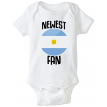 Argentina Newest Fan Baby  Bodysuit