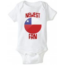 Chile Newest Fan Baby Bodysuit