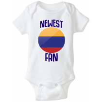 Colombia Newest Fan Baby Bodysuit