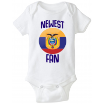 Ecuador Newest Fan Baby Bodysuit