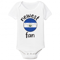 El Salvador Newest Fan Baby Bodysuit