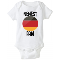 Germany Newest Fan Baby Bodysuit
