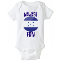 Honduras Newest Fan Baby Bodysuit