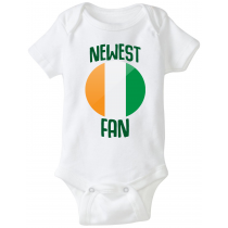 Ireland Newest Fan Baby Bodysuit