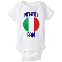 Italy Newest Fan Baby Bodysuit