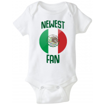 Mexico Newest Fan Baby Bodysuit