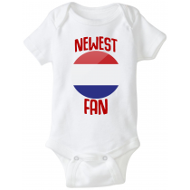 Netherlands Newest Fan Baby Bodysuit