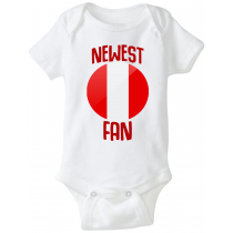 Peru Newest Fan Baby Bodysuit