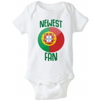 Portugal Newest Fan Baby Bodysuit