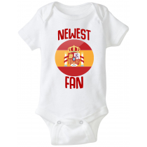 Spain Newest Fan Baby Bodysuit
