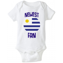 Uruguay Newest Fan Baby Bodysuit