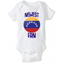 Venezuela Newest Fan Baby Bodysuit