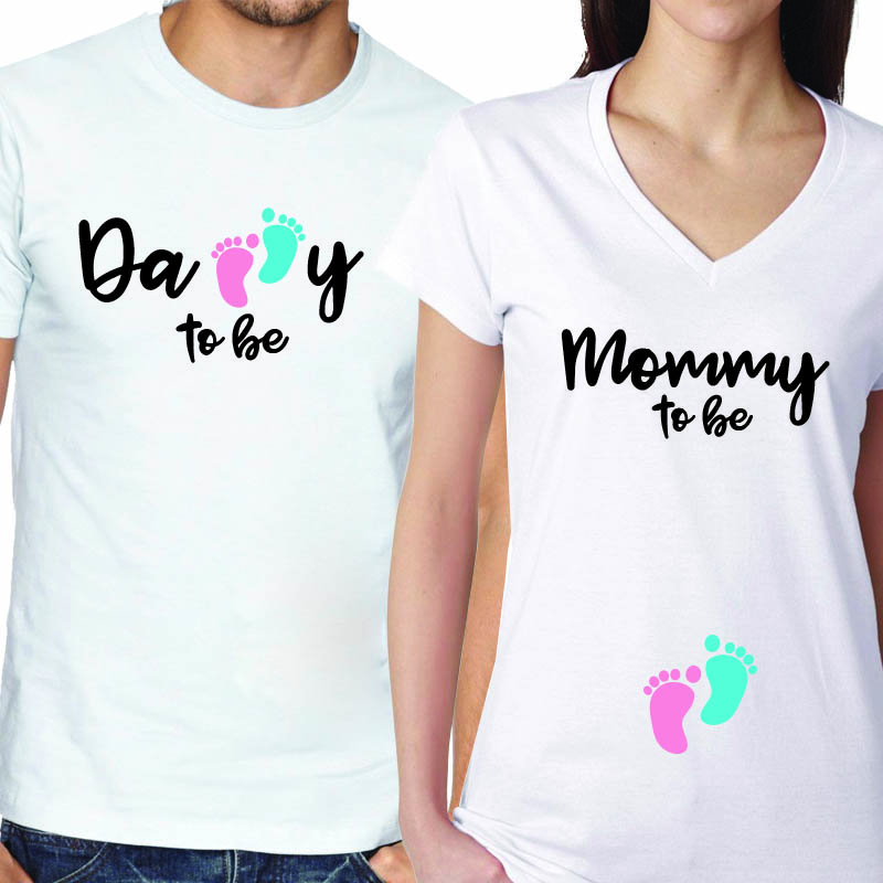 Babyshower's Couples Matching T-shirt
