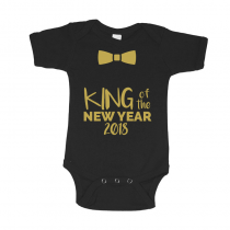 My First New Year Kid's Christmas T-Shirts King Of The New Year