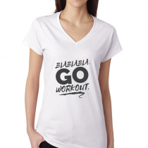 Fitness Women's T-shirt Workout GO Workout