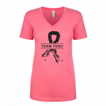 T-shirts V-Neck Women's Tee Team