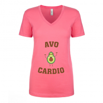Fitness Women's T-shirt Workout Tee AvoCardio