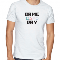 Men's Gamers T-Shirts Video Games Tee Game Day