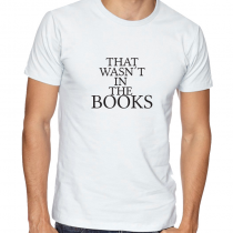 Men T-Shirt MEN Tee That Wasn't In The Books