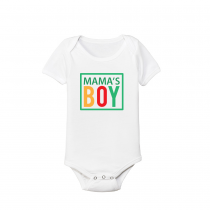 Funny Baby's And Toddler Shirts Mama's Boy