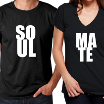 Valentine's Day Couples Matching T-shirt Soulmate