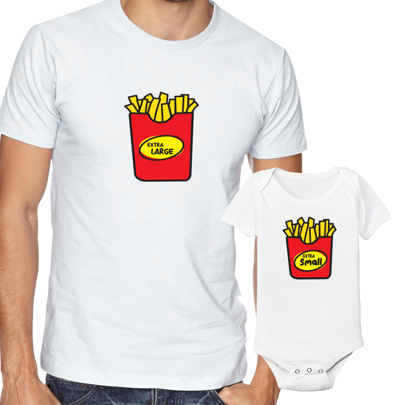 Father's Day Daddy & Me Matching Set Shirts & Bodysuits Extra Large/Small