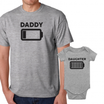 Father's Day Daddy & Me Matching Set Shirts & Bodysuits Energy