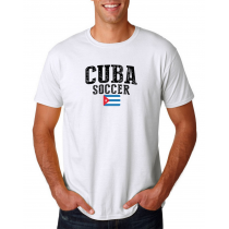 Cuba Men's Soccer T-Shirt Country Team