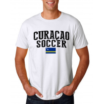 Curacao Men's Soccer T-Shirt Country Team