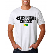 French Guiana Men's Soccer T-Shirt Country Team