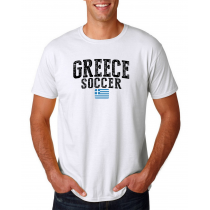 Greece Men's Soccer T-Shirt Country Team