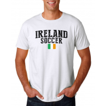 Ireland Men's Soccer T-Shirt Country Team