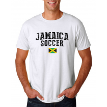 Jamaica Men's Soccer T-Shirt Country Team