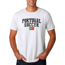 Portugal Men's Soccer T-Shirt Country Team