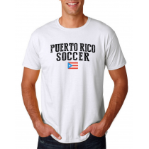 Puerto Rico Men's Soccer T-Shirt Country Team