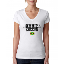 Jamaica Women's Soccer T-Shirt Country Team