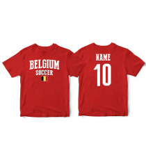 Belgium Men's Soccer T-Shirt Country Team