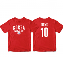 South Korea Men's Soccer T-Shirt Country Team