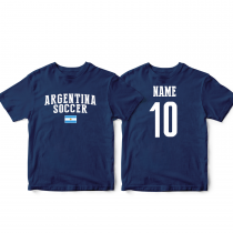 Argetina Men's Soccer T-Shirt Country Team