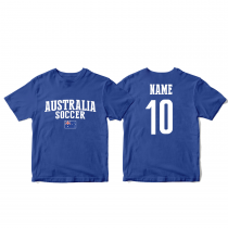 Australia Men's Soccer T-Shirt Country Team