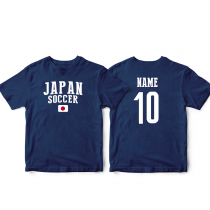 Japan Men's Soccer T-Shirt Country Team