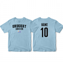 Uruguay Men's Soccer T-Shirt Country Team
