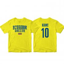 Ecuador Men's Soccer T-Shirt Country Team