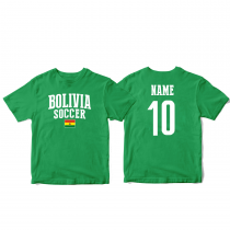 Bolivia Men's Soccer T-Shirt Country Team