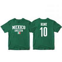 Mexico Men's Soccer T-Shirt Country Team