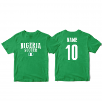 Nigeria Men's Soccer T-Shirt Country Team