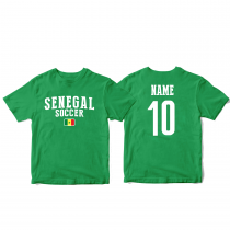 Senegal Men's Soccer T-Shirt Country Team