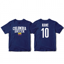 Colombia Men's Soccer T-Shirt Country Team