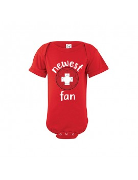 Switzerland Newest Fan Baby Soccer Bodysuit