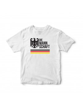 Germany Men's Soccer T-Shirt Die Mann Shaft